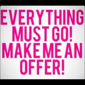 SALE SALE SALE! Send me some offers!